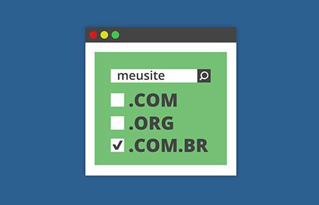 mega menu registro de domínio