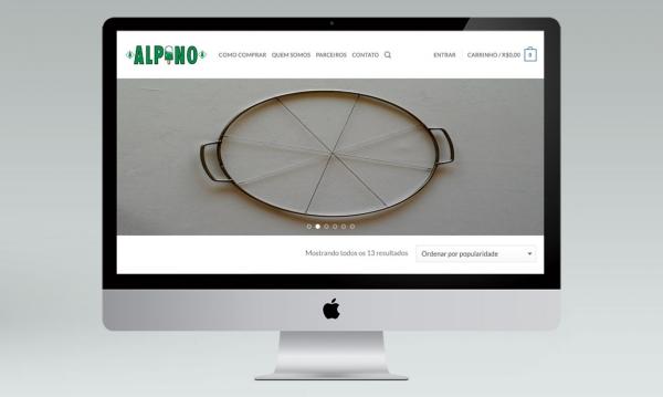 Portfólio Loja Virtual Sorvete Alpino