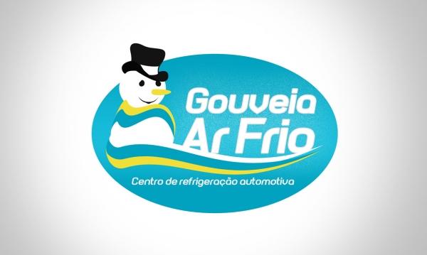 portfólio criação de logomarca gouveia ar frio