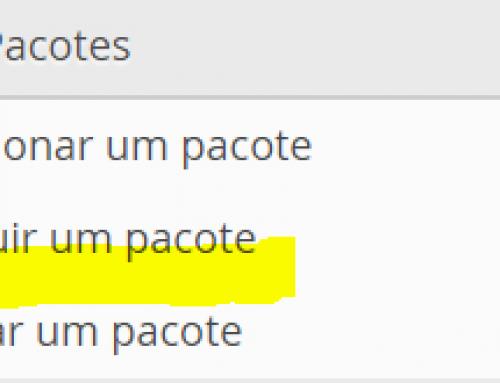 Remover pacote de hospedagem no Web Host Manager