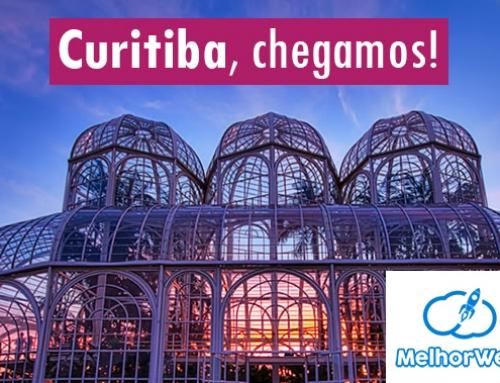 Curitiba, chegamos!